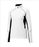 Джемпер GOLDWIN Ladie's Half-Zip Shirt white/red