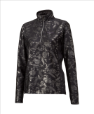 Джемпер GOLDWIN Ladie's Half-Zip Shirt urushi black