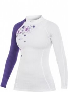 Термобелье Craft Active Extreme CN W White-Vision-Orchid-Metal Print women