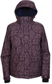 куртка Ripzone COZY CORNER JACKET Mystic/Royalty - Brocade