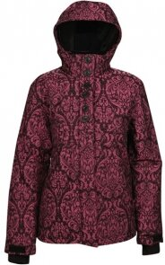 куртка Ripzone COZY CORNER JACKET Pink/Black - Brocade