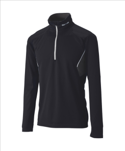 Джемпер GOLDWIN Half-Zip Shirt black/white