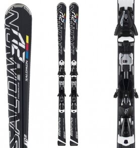 Горные Лыжи Salomon S 2V Race Pl + Z14 Speed S75/2012